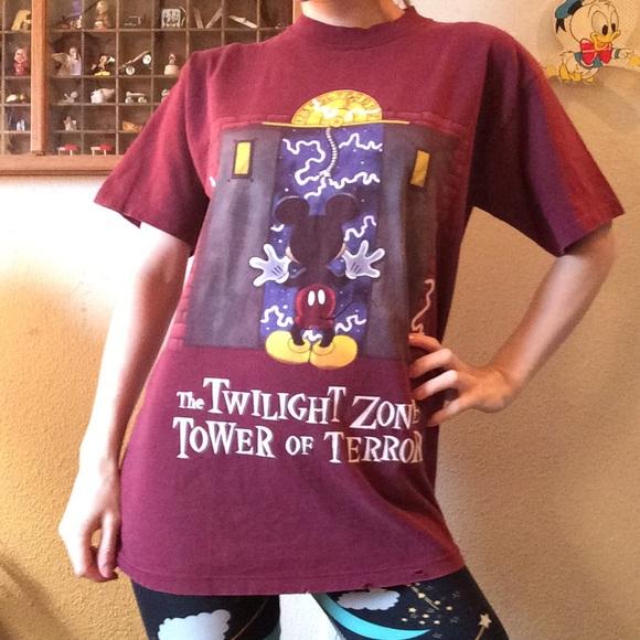 Disney Other - DISNEY Tower Of Terror Twilight Zone T-Short